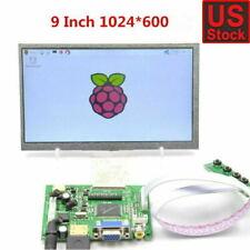 "9inch 9"" TFT LCD Display Module HDMI VGA 2av Driver Board for Raspberry Pi"