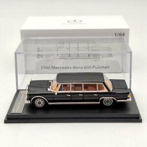 1:64 DCM 1966 Merceders-Benz 600 Pullman Black Limited Diecast Models Collection