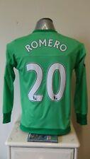 Manchester United Goalkeeper Football Shirt Jersey 2015-2016 ROMERO 20 XL Boys
