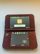 Nintendo New 3DS XL System  - Red
