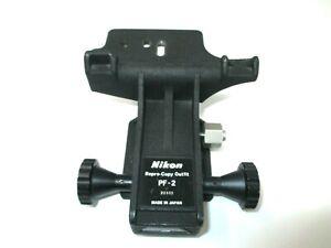 Nikon PF2 Macro Focus Stage. Rare item.