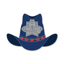 2016 FINAL FOUR COWBOY HAT HOUSTON,TEXAS COLLECTOR PIN BRAND NEW WINCRAFT