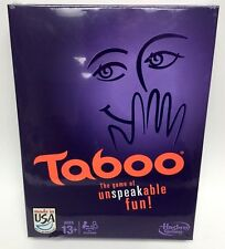 Hasbro Taboo Fun Word Guessing Family Party Game Night A4626, Ages 13+