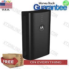 Motorola Power Pack 3000mAh Black Portable Battery Micro USB charging Build-in