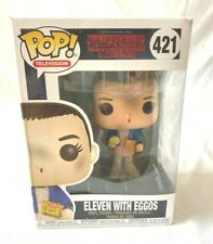 "Funko Pop,  Stranger Things ""Eleven with Eggos"" -  Vinyl Figure - BNIB- (LOU)"