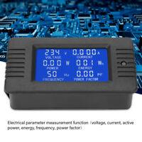 PZEM-020 AC80-260V 10A  Digital Voltmeter Current Power Energy Kwh Panel Meter