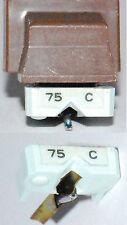 PUNTINA GIRADISCHI  SHURE 75 C  (REPLACEMENT STYLUS)