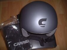CARRERA Bullet matt grey   black unisex ski snowboard helmet XS 54cm dbf92bacd37