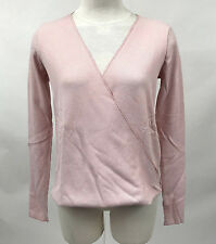 Project Social T Women's Thermal Drew Surplice Pink Size XS NEW Urban Outfitters