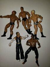 Umaga Bautista randy orton Jeff hardy WWE Deluxe Build N' Brawl Figure lot of 5