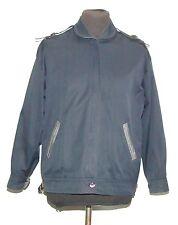 Vintage Burberry Harrington Bomber señoras chaqueta 14 R Azul Marino Años 80