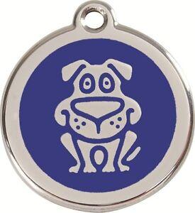 médaille gravée toutou red dingo grand chien