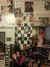 Michael Jackson collection lot press magazines articles interviews clippings