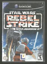 Star Wars: Rebel Strike -- Rogue Squadron III (Nintendo GameCube) CIB complete