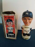 (VTG) 1960s roger maris Yankees mini nodder bobblehead doll & box japan rare