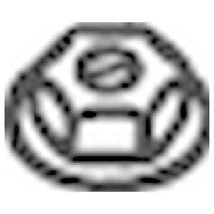 BOSAL Endschalldämpfer Mit verchromten Ende für OPEL CORSA TIGRA 185-621