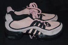 REVOLUTION Pink/Black Hip Hop/Pom Lace-Up Recital Dance Sneaker Shoes Child sz 1
