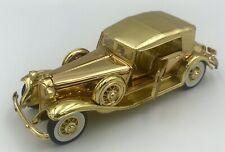 1932 Chrysler LeBaron 1:32 Die-Cast Gold Tone Signature Model