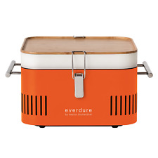 Everdure by Heston Blumenthal CUBE Portable Charcoal Barbeque - Orange