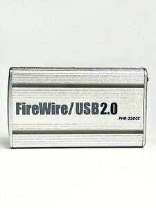 "Macally PHR250CC Silver FireWire/USB 2.0 2.5"" HDD External Enclosure"