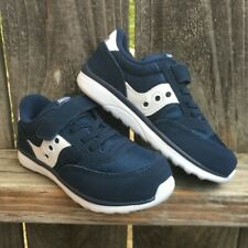 Saucony Boys Sy Baby Jazz Lite Sneakers Shoes Navy Blue Size 8.5 XW