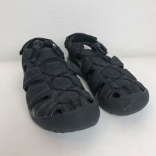 Mens Khombu black Sandals size 10