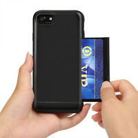 """For Man&Husband Case iPhone 6 4.7"""" Armor Wallet Purse Cover w/2 Card Slot Holder"""