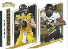2019 Contenders Draft Picks DREW LOCK / EMANUEL HALL Missouri Connections # 3