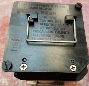 Genuine ORIGINAL NEC LT60LP LT60LPK Lamp to fit LT260K PROJECTOR - BRAND NEW