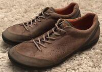 ECCO BIOM Grip Urbaneering Dark Clay/Cocoa Leather Shoe Sneaker Mens 12 EU 45