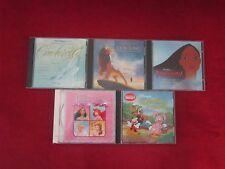 Lot of 5 Disney CD's Lion King Princess Collection Pocahontas Cinderella