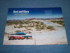 """2014 Mexican 1000 Rally Off-Road Race Highlights Article """"Dust & Glory"""""""