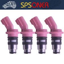 4x A46-H12 16600-73C00 Fuel Injector for Nissan 100NX Almera Primera Sunny 1.6L