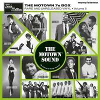 """VARIOUS ARTISTS THE MOTOWN 7S VOL.3 BOX NUMBERED SETTE VINYLS 7"""" NEW"""