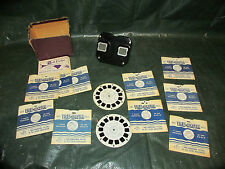 Vintage Sawyer's Viewmaster with 12 Reels Nice! LQQK!