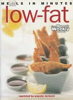 Low-Fat Meals in Minutes Cookbook  by The Australian Women's Weekly  (PB, 2002)