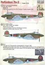 Print Scale Decals 1/72 PETLYAKOV Pe-2 Soviet WWII Bomber