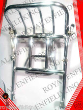 Royal Enfield Rear Luggage Touring Carrier Chrome