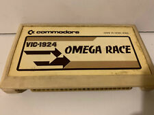 VIC-1922 COSMIC CRUNCHER VIC-1924 OMEGA RACE COMMODORE CARTRIDGE USED VINTAGE