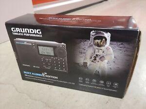 Grundig G6 Aviator Buzz Aldrin AM / FM / Aircraft Shortwave Radio  NEW IN BOX