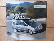 Opel Zafira - Poster Prospekt Brochure 02.2005