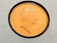 1985 British One Penny Proof Coin