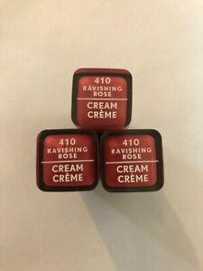 (3) Covergirl Colorlicious Cream Lipstick, 410 Ravishing Rose