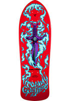 POWELL PERALTA - TOMMY GUERRERO LIMITED EDITION 2 - RED SKATEBOARD DECK - BONES