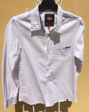 Chemise ML Blanc LEE COOPER Taille 16 Ans