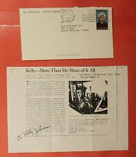 1985 Lockheed Engineer Kelly Johnson Signed Van Nuys Ca