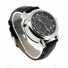 MEGIR Moon + Stars Watch FAULTY CHRONO Double Sided 41mm + Gift Box UK MENS