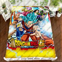 Dragon Ball Z Son Goku Otaku Saiya 3D Bed Sheet Bed Cover Bedding Set Cover