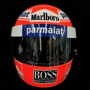Niki Lauda Signed Helmet Direct Autograph 1984 McLaren Display 1:1Scale AS-01445