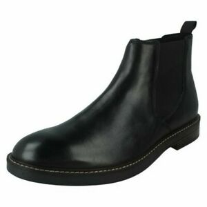 Clarks Mens Formal Chelsea Style Boots - Paulson Up